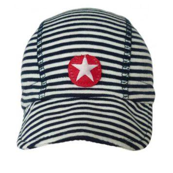 Kik Kid Hat Cap Grey-White Stripe