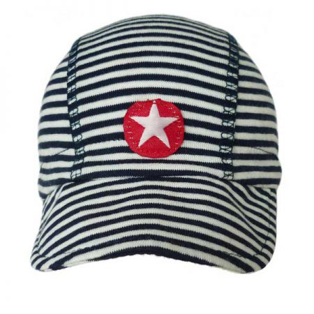 Kik Kid Hat Cap Grey-White Stripe