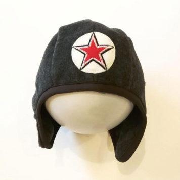 Kik Kid Hat Speedy Solid Black
