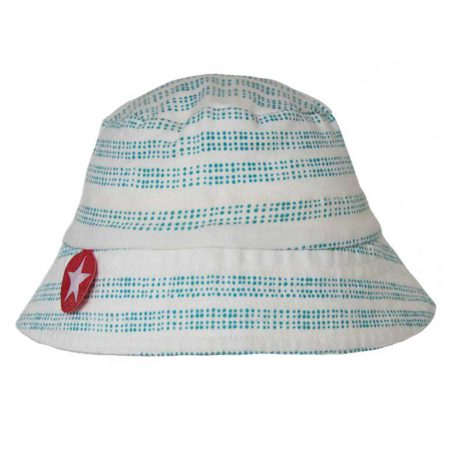 Kik Kid Hat Tiba Rand White-Blue