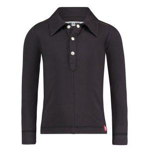 Kik Kid Hemd Button Black