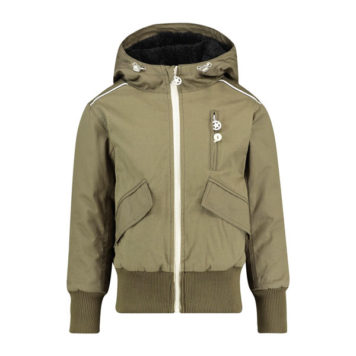 Kik Kid Jacket Canvas Army