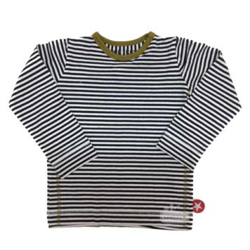 Kik Kid Longsleeve Stripe Black