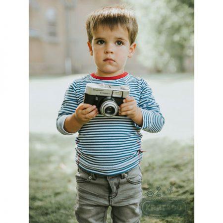 Kik Kid Longsleeve Stripe Blue