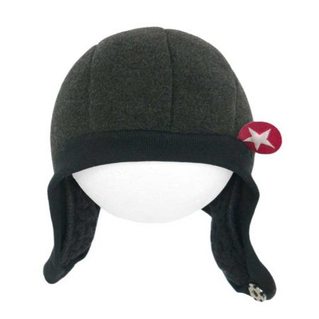 Kik Kid Muts Speedy Button Black-Grey