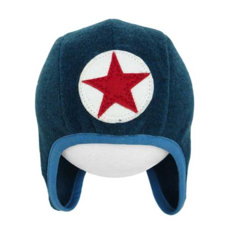 Kik Kid Muts Speedy Star Fleece Blue