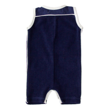 Kik Kid Romper Terry Dark Blue