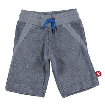 Kik Kid Short Terry Grey Blue