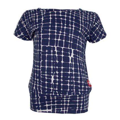 Kik Kid T-shirt Block Dark Blue