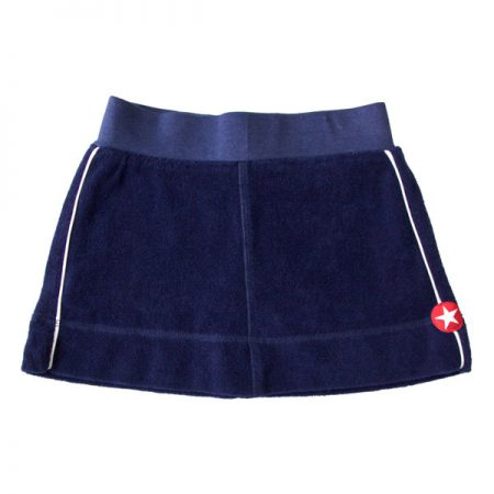 Kik Kid short-rokje Terry Dark Blue