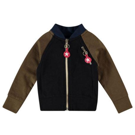 Kik Kid vest Brown Black