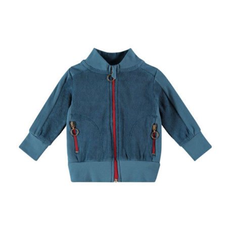 Kik Kid vest Terry Mid Blue