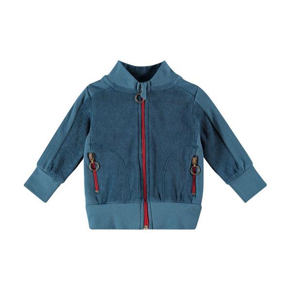 Kik Kid vest Terry Mid Blue