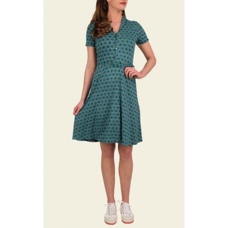 King Louie Emmy Dress Pippa Ponderosa Green