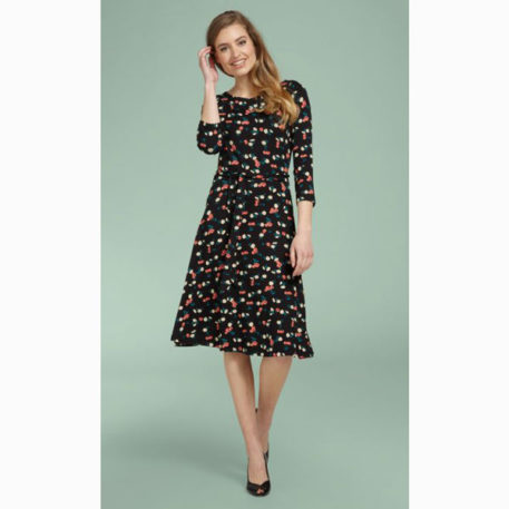 King Louie Skater Dress Cherry Pie
