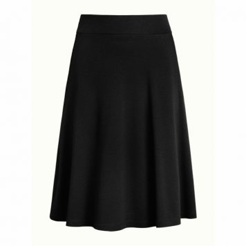 King Louie Sofia Skirt Milano Crepe Black