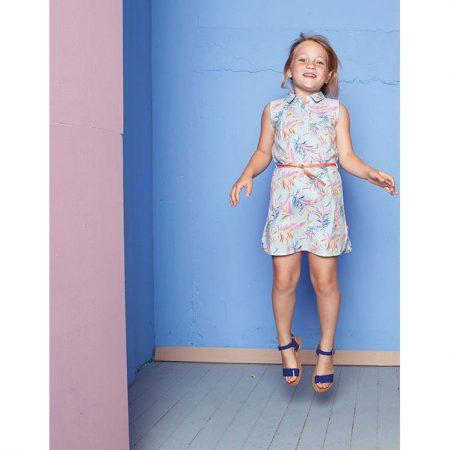 Lebig Eliora Dress Canal Blue