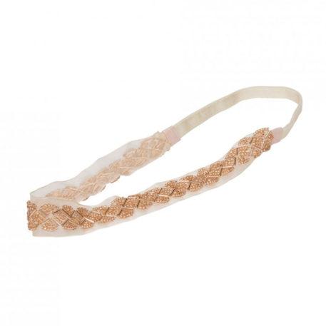 Lebig Inky Headband Pearled Ivory