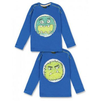 Lemon Beret Longsleeve Monsters Galaxy Blue