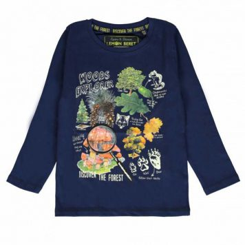 Lemon Beret Longsleeve Woods Explorer Dark Blue