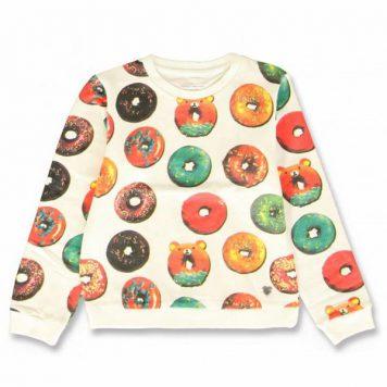 Lemon Beret Sweater Donut Marshmallow