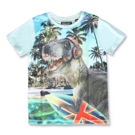 Lemon Beret T-shirt Dino Cool Blue