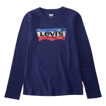 Levi's Girl Longsleeve Logo Medieval Blue