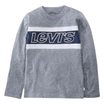 Levi's Longsleeve Shirt Logo Classic Blue Snow
