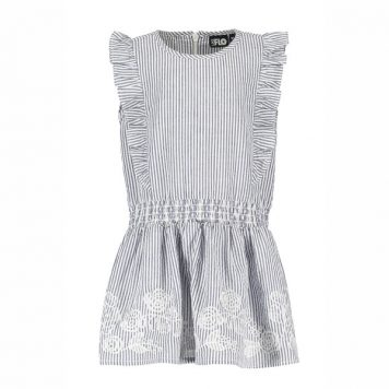 Like Flo Baby Girls Anglaise Ruffle Dress