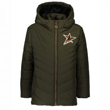 Like Flo Boys Jacket Army
