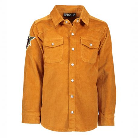 Like Flo Boys Shirt Rib Cord