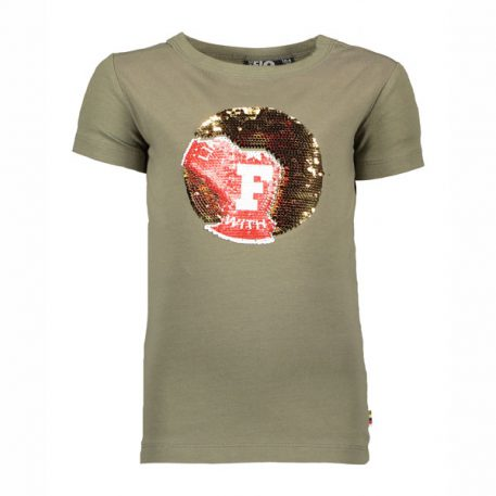 Like Flo Boys T-shirt Army