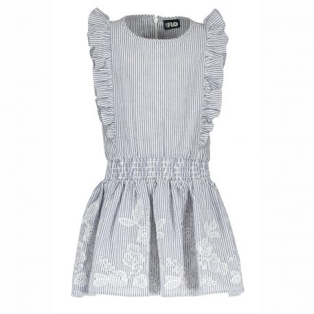 Like Flo Dress Anglaise Ruffle Dress
