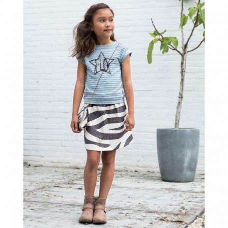 Like Flo Fancy Skirt Zebra