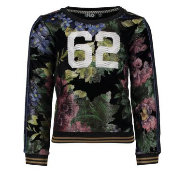Like Flo Flower Sweater