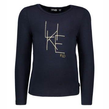 Like Flo Girls Longsleeve Like Navy