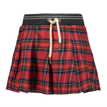 Like Flo Girls Scottish Pleated Skirt