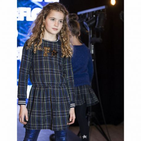 Like Flo Girls Scottish Ruffle Dress