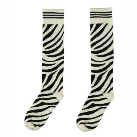 Like Flo Kneesock Zebra