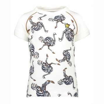 Like Flo Ostrich Top