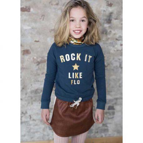 Like Flo Petrol Sweater Rock It
