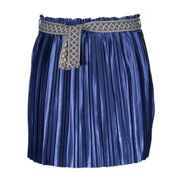 Like Flo Plisse Skirt Marine