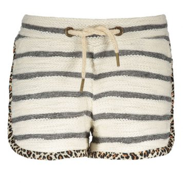 Like Flo Stripe Sweat Short