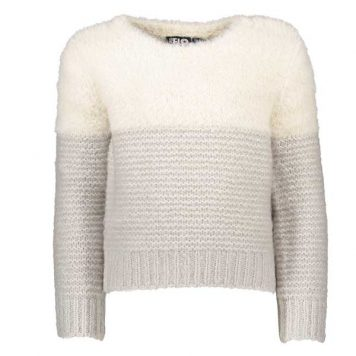 Like-Flo-Sweater-Colour-Block-Hairy-Off-White