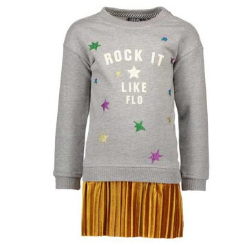 Like Flo Sweater Dress Rock