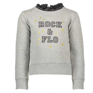 Like Flo Sweater Ruffle Neck