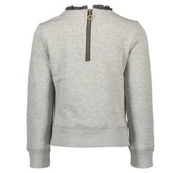 Like Flo Sweater Ruffle Neck