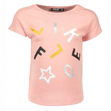 Like Flo T-shirt Fancy Old Pink