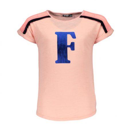 Like Flo T-shirt Fluo Slub F