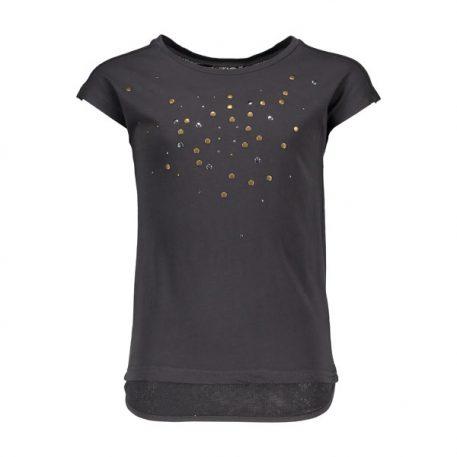 Like Flo T-shirt Slub Fancy Mesh
